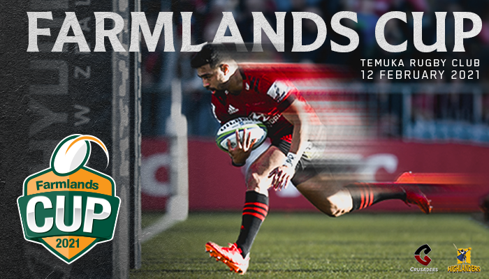 The Farmlands Cup – Crusaders v Highlanders