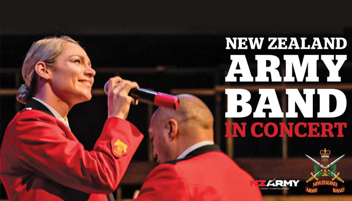 New Zealand Army Band Live in Concert