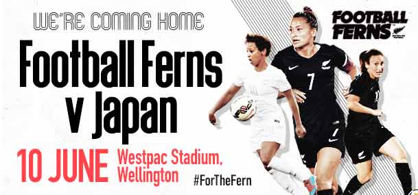 Football Ferns vs. Japan