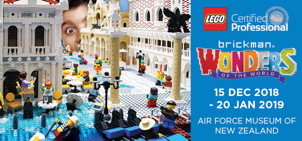 Wonders of the World in LEGO® bricks