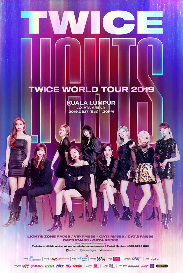 TWICE WORLD TOUR 2019 'TWICELIGHTS' IN KL | Official Ticketek